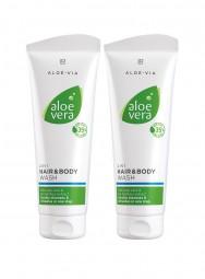 Aloe Vera 2 in 1 Haar- & Körpershampoo 2er-Set
