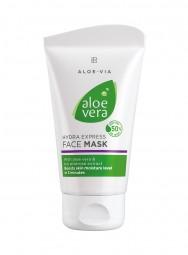 Aloe Vera Express Feuchtigkeits- Gesichtsmaske