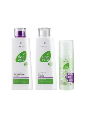 Aloe Vera Face Cleaning Set