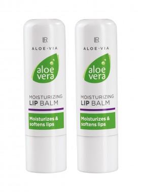 Aloe Vera Feuchtigkeitsspendender Lippenpflegestift 2er Set