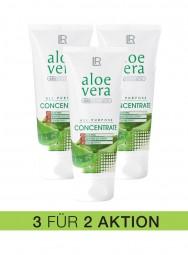 Aloe Vera Konzentrat 3er Pack