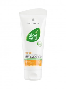 Aloe Vera Sonnengel-Creme LSF 20