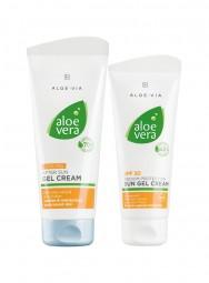 Aloe Vera Sonnenschutz-Set für vorgebräunte Haut