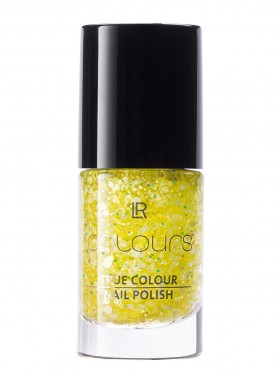 Colours Top Coat Flower Effect Yellow