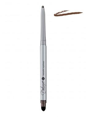 Deluxe Metallic Eyeliner Satin Brown