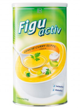 Figuactiv Suppenpulver India (Gemüse-Curry-Suppe)