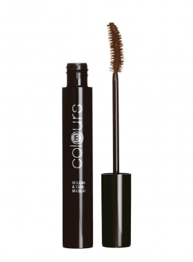 LR colours Volume & Curl Mascara - Dark Brown